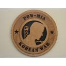POW-MIA Korea Plaque