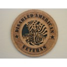 Disabled American Veteran Plaque