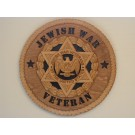 Jewish War Veterans Plaque