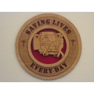 EMT Saving Lives Plaque