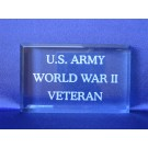 Branch of Service Paperweight US Army