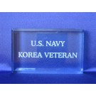 Branch of Service Paperweight US Navy