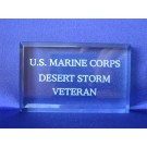 Branch of Service Paperweight USMC