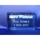 Seal Team Special Event Paperweight USN