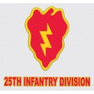 25th Infantry Division Decal