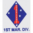 Marine 1st Division Decal