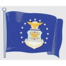 US Air Force Flag Decal