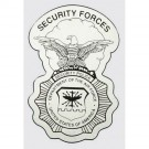 USAF Security Forces Shield Decal