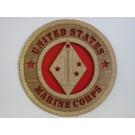 United States Marine Corps Veteran 1st Division Guadalcanal Plaque