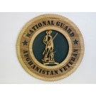 National Guard Veteran Afghanistan Plaque