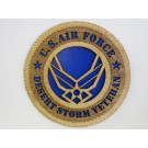 US Air Force Veteran Desert Storm Plaque
