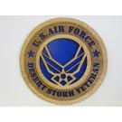 US Air Force Veteran Desert Storm Plaque