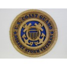 US Coast Guard Veteran Desert Storm Plaque